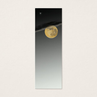 Skinny Moonscape Business Card