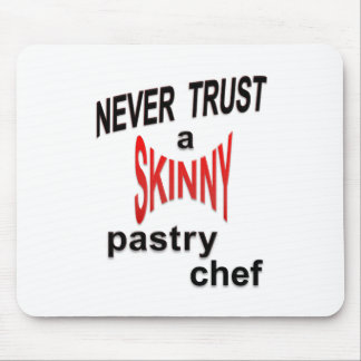 Skinny Pastry Chef Mousepad
