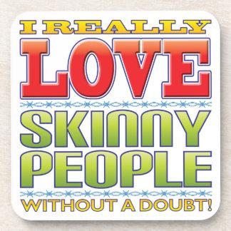 Skinny People Love Coaster