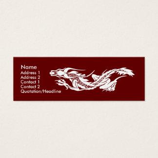 Skinny Profile Card Template - Dragon