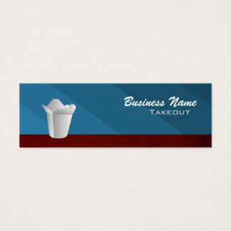 Skinny Takeout Business Cards