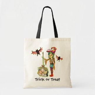 Skinny Witch Trick or Treat Bag