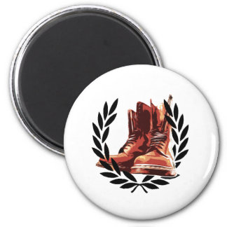 skins boots 2 inch round magnet