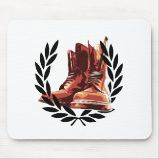 skins boots mouse pad