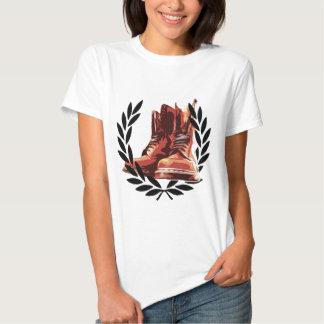 skins boots shirt