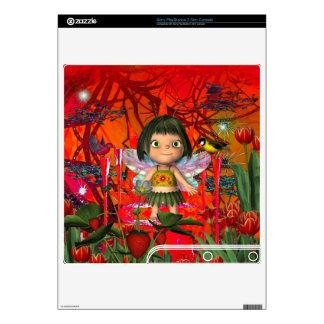 Skins Fantasy Little Fairy Elf Girl Gaming Skins For The PS3 Slim