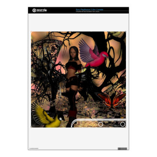 Skins Fantasy Skin Elf Girl Gaming Electronics Decals For The PS3 Slim