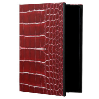 Skinz 1 Leather Lizard Skin RED iPad Air Cover