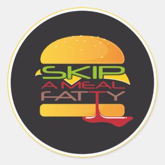 Skip A Meal Fatty Sticker
