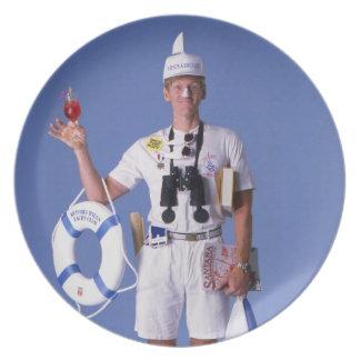 Skip Sayles™_You Float My Boat! humorous Melamine Plate