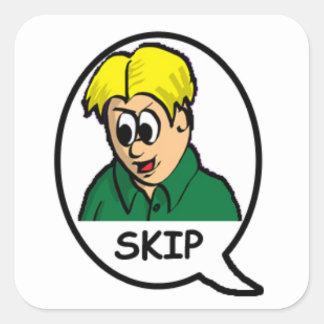 Skip Sticker