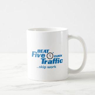 Skip Work Classic White Coffee Mug