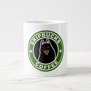 Coffee Themed Skipbucks Jumbo Mug
