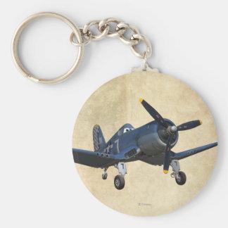Skipper 1 basic round button keychain