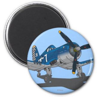 Skipper 2 2 inch round magnet