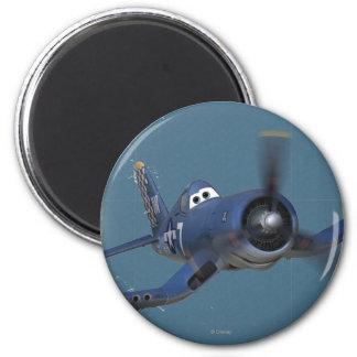 Skipper 3 2 inch round magnet