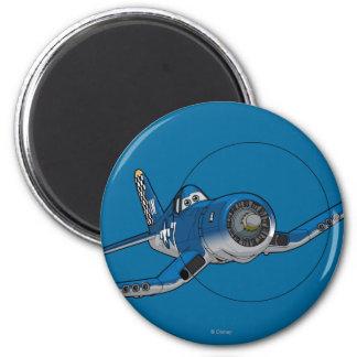 Skipper 4 2 inch round magnet