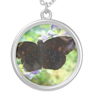 Skipper Butterfly Necklace