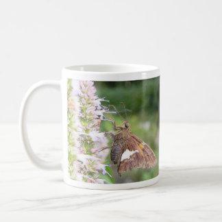 Skipper Butterfly On Agastache Coffee Mug