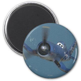 Skipper No. 7 2 Inch Round Magnet