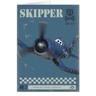 Skipper No. 7 Card