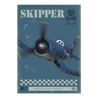 Skipper No. 7 Poster