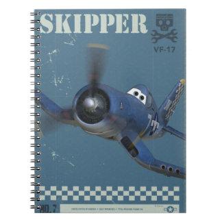 Skipper No. 7 Spiral Notebook