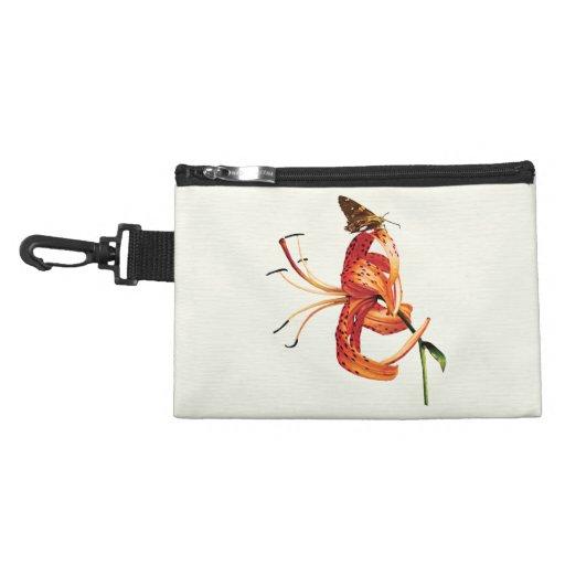 Skipper Orange Tiger Lily Accessories Bags