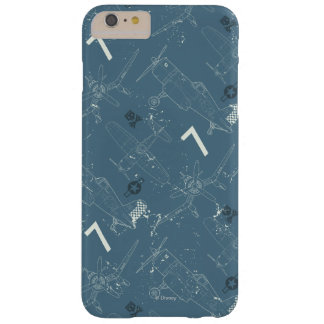 Skipper Pattern Barely There iPhone 6 Plus Case