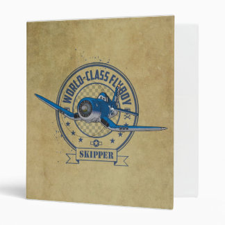 Skipper - World Class Flyboy 3 Ring Binder