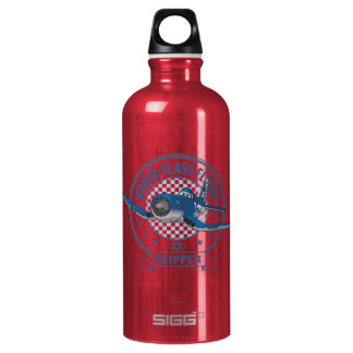 Skipper - World Class Flyboy Aluminum Water Bottle