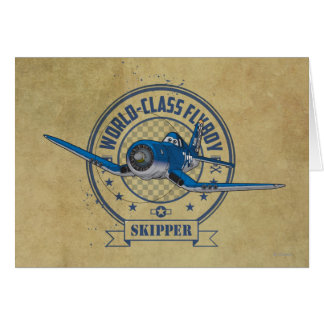 Skipper - World Class Flyboy Card