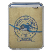 Skipper - World Class Flyboy iPad Sleeve
