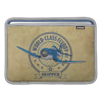 Skipper - World Class Flyboy MacBook Air Sleeve