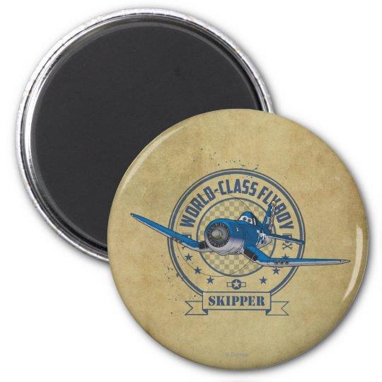 Skipper - World Class Flyboy Magnet