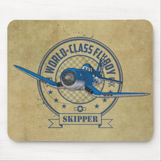 Skipper - World Class Flyboy Mouse Pad