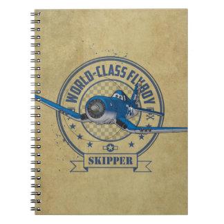 Skipper - World Class Flyboy Notebook
