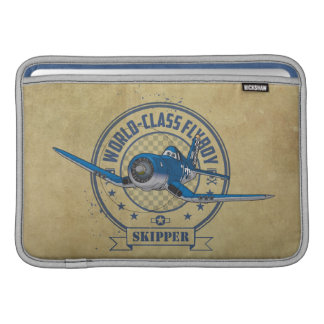 Skipper - World Class Flyboy Sleeves For MacBook Air