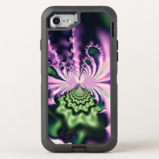 Skipping Stones Fractal OtterBox Defender iPhone 7 Case