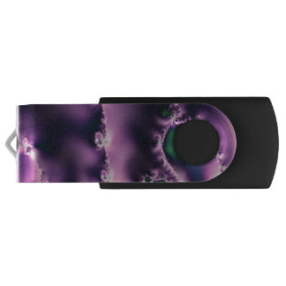Skipping Stones Violet Flash Drive