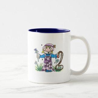 Skipping Two-Tone Coffee Mug