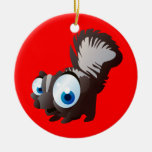 Skippy The Skunk Christmas Tree Ornaments
