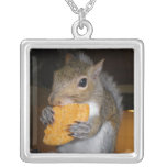 Skippy the squirrel necklace
