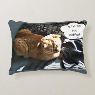 Skippy's Morning Accent Pillow