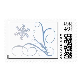 Skirl of Snow Postage
