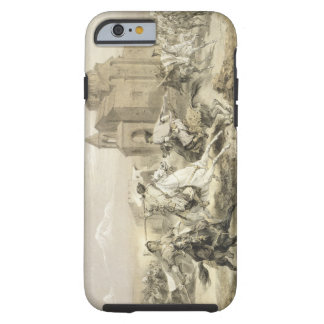 Skirmish of Persians and Kurds in Armenia, plate 1 Tough iPhone 6 Case