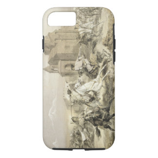Skirmish of Persians and Kurds in Armenia, plate 1 iPhone 8/7 Case