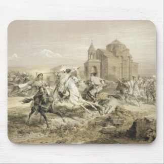 Skirmish of Persians and Kurds in Armenia, plate 1 Mouse Pad
