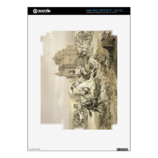 Skirmish of Persians and Kurds in Armenia, plate 1 Skins For iPad 3