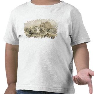 Skirmish of Persians and Kurds in Armenia, plate 1 T Shirt